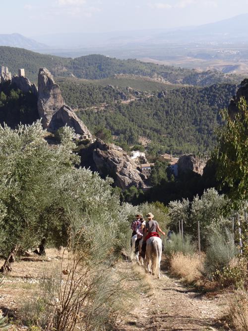 rutas a caballo cazorl casas rurales