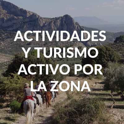 TURISMO ACTIVO CASAS RURALES EN CAZORLA