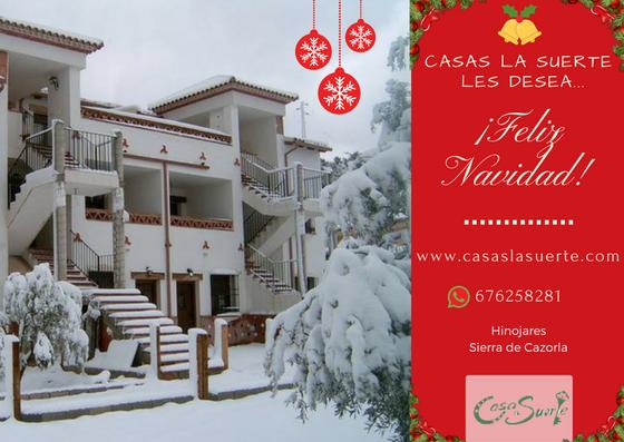 Casas La Suerte Les Desea Feliz Navidad