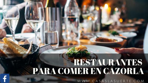 Restaurantes Para Comer En Cazorla
