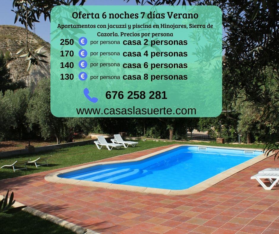 Oferta De Verano En Casa Rural En Cazorla, Casas La Suerte Hinojares